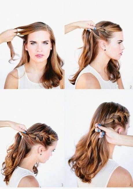 Peinados sencillos semirecogidos paso a paso