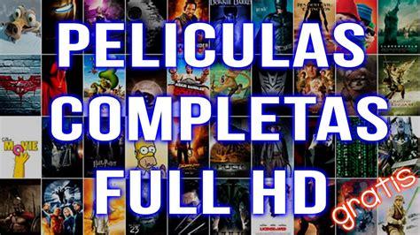 Peliculas Completas en HD - 5 Mejores Paginas para ver ...