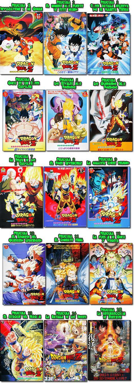 Películas Dragón Ball Z Español Latino | Dragon Ball La Serie