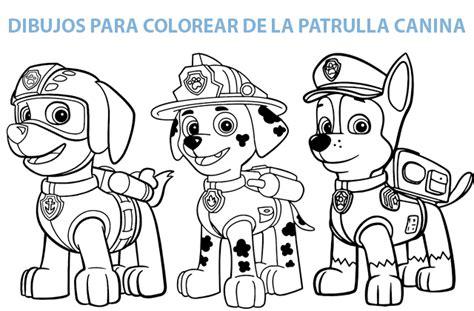 Fotos Para Colorear Patrulla Canina Cantineoqueteveo