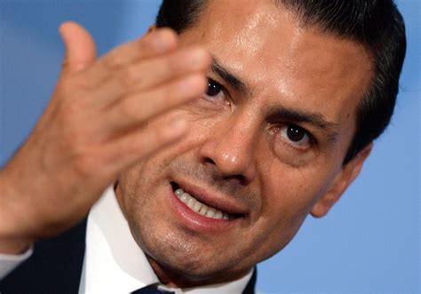 Pena Nieto delivers warning about spectre of British, U.S ...