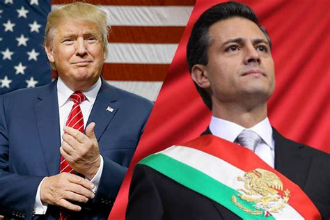 Peña Nieto se reúne con Donald Trump en Los Pinos ...