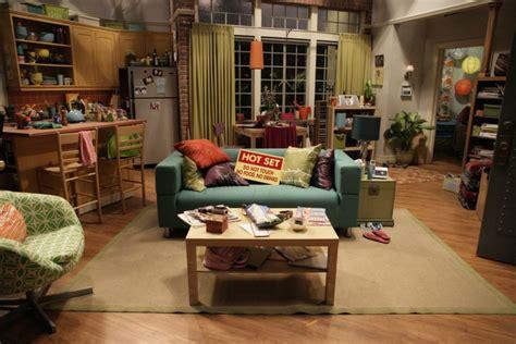 Penny s living room   Big Bang Theory Klippan Loveseat ...
