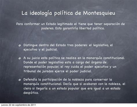 Pensamiento político moderno