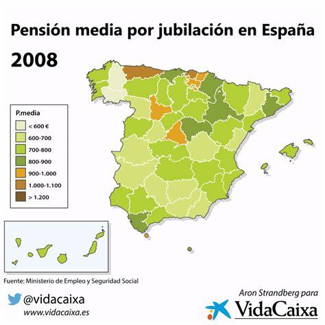 Pensión media por jubilación en España | VidaCaixa