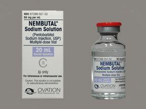 Pentobarbital; diabutal; etaminal; ethaminal; mebubarbital ...