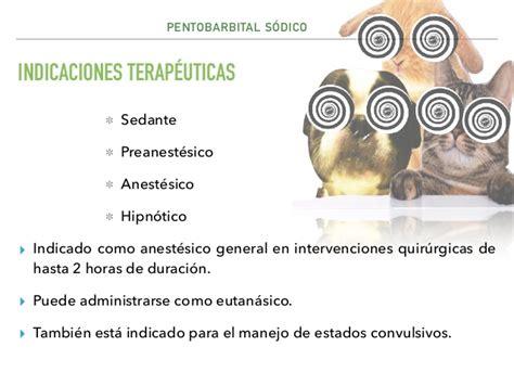 Pentobarbital sódico