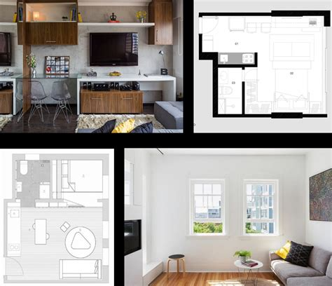 Pequeños departamentos con diseño minimalista, presenta ...