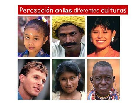 Percepcion En Las Diferentes Culturas