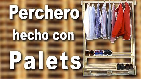 Percheros Hechos Con Palets. Gallery Of Muebles Hechos Con ...