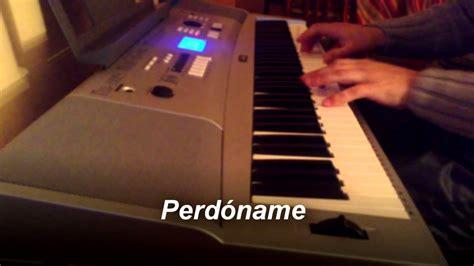 Perdóname - Luciano Pereyra - Piano Cover - YouTube
