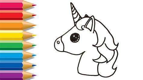 Perfecto Unicornio Imprimible Para Colorear Galería ...