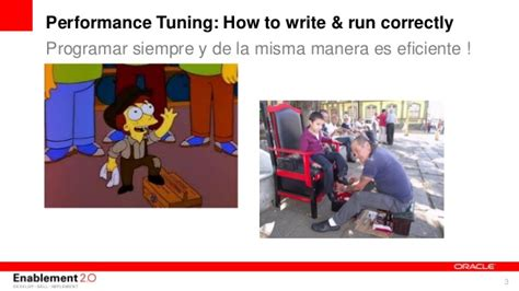 Performance tuning how to write and run correctly sql ...