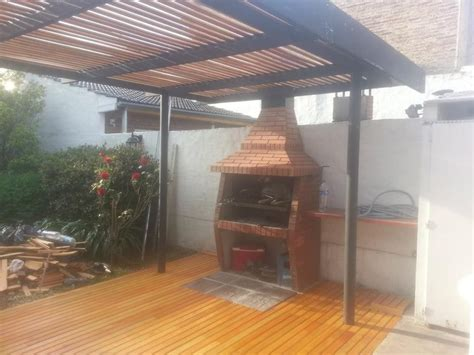 pergolas de hierro y madera   Buscar con Google | casa ...