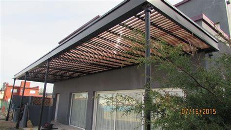 pergolas de hierro y madera   Buscar con Google | techos ...