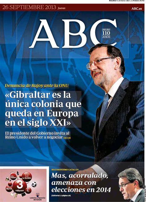 Periodico ABC - 26/9/2013