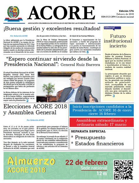 Periodico Archivos - ACORE Colombia