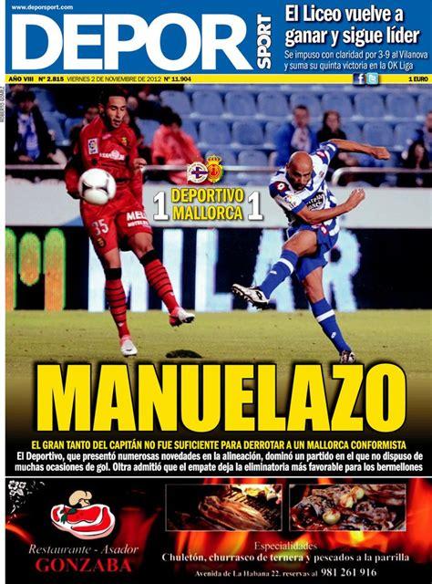 Periodico Depor Sport - 2/11/2012
