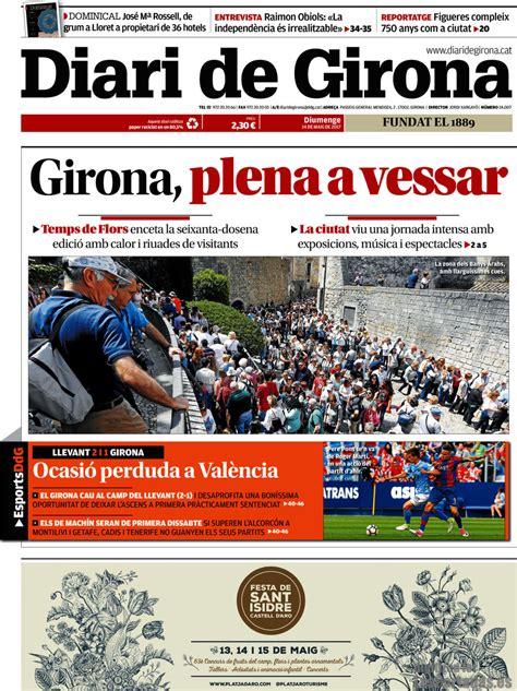 Periodico Diari de Girona   14/5/2017