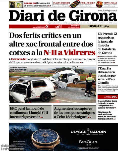 Periodico Diari de Girona   16/12/2016