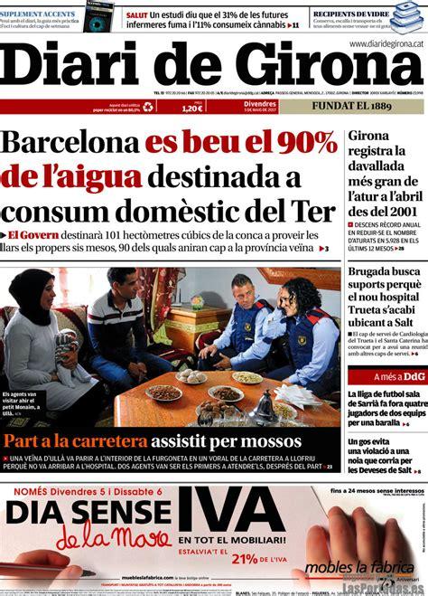 Periodico Diari de Girona   5/5/2017
