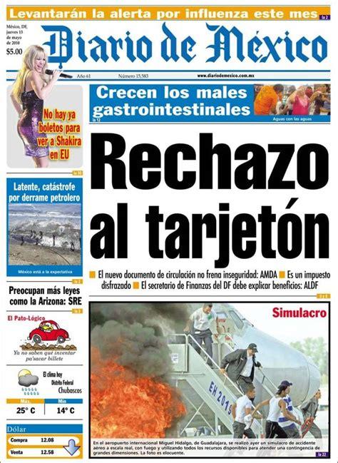 Periódico Diario de México  México . Periódicos de México ...