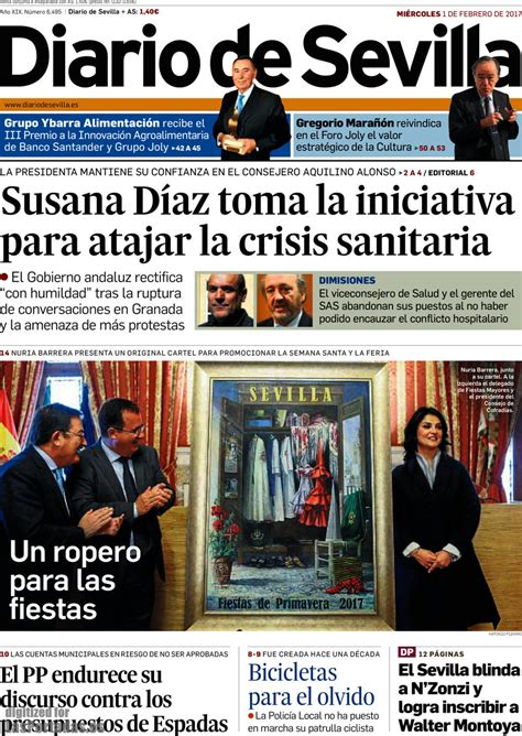 Periodico Diario de Sevilla - 1/2/2017