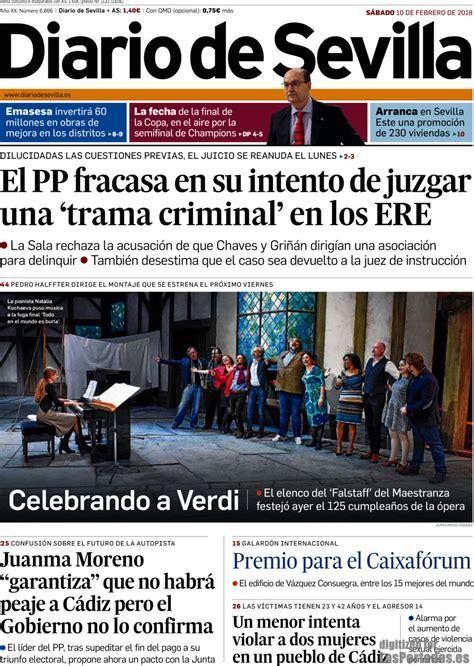 Periodico Diario de Sevilla - 10/2/2018