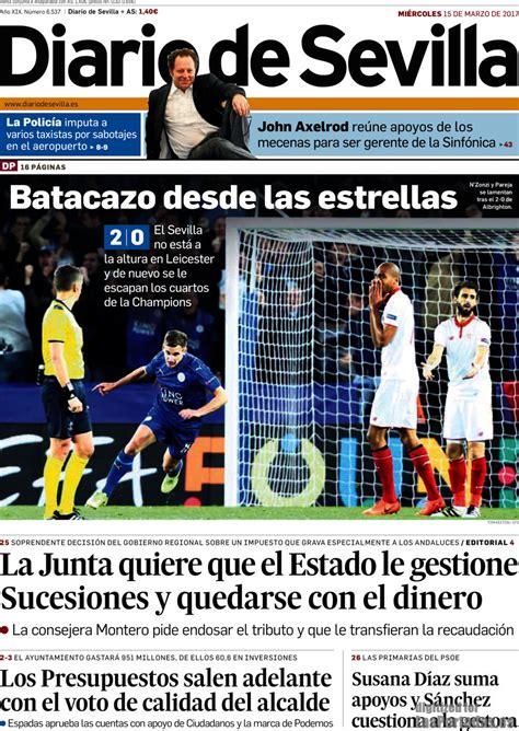 Periodico Diario de Sevilla - 15/3/2017