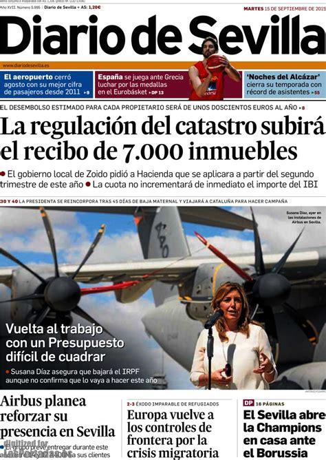 Periodico Diario de Sevilla - 15/9/2015