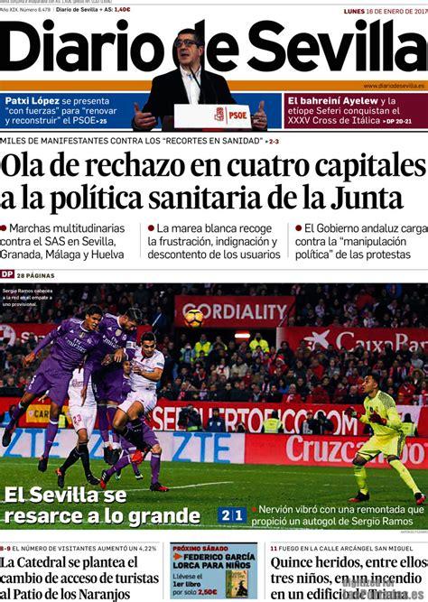 Periodico Diario de Sevilla   16/1/2017
