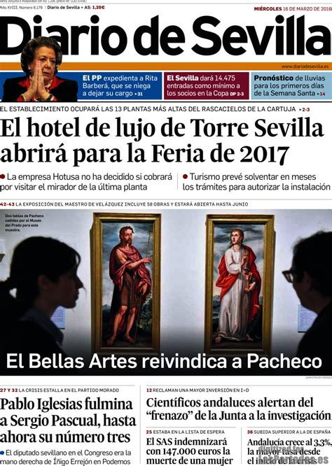 Periodico Diario de Sevilla   16/3/2016