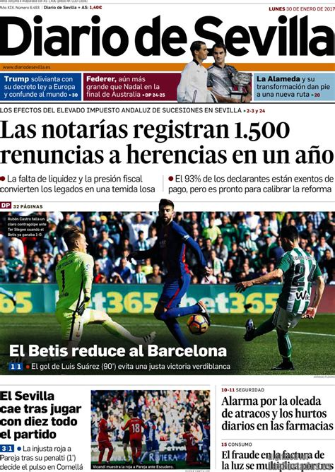 Periodico Diario de Sevilla - 30/1/2017