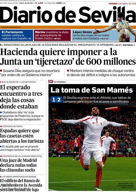 Periodico Diario de Sevilla - 8/4/2016