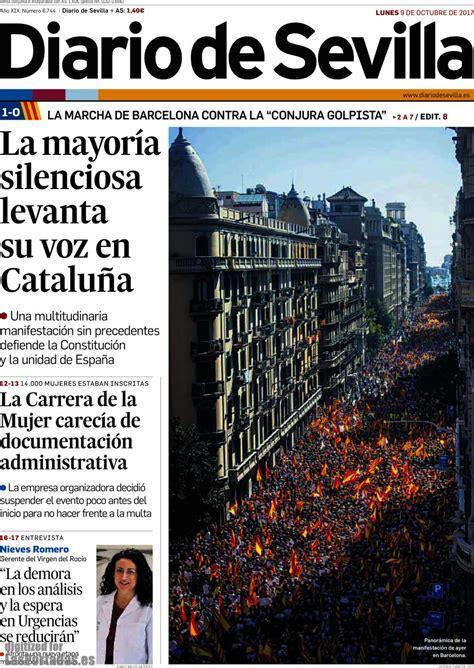 Periodico Diario de Sevilla - 9/10/2017