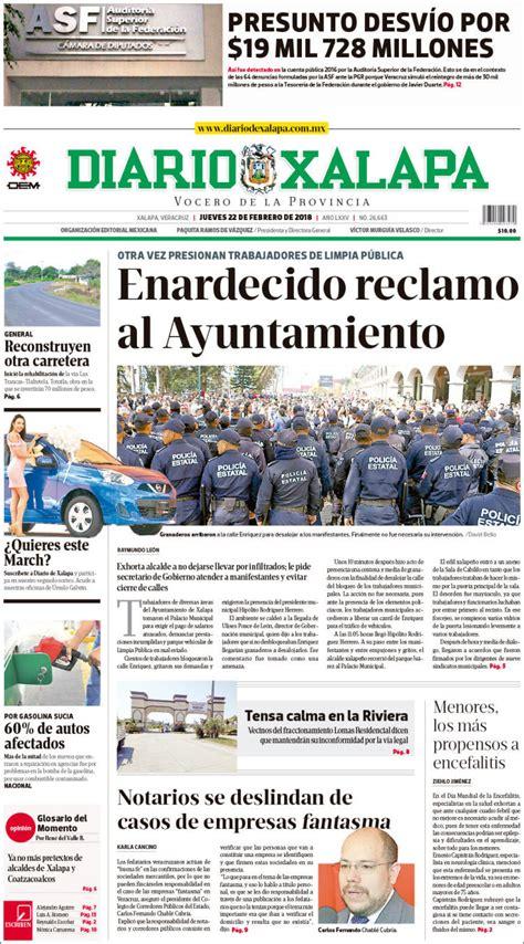 Periódico Diario de Xalapa  México . Periódicos de México ...