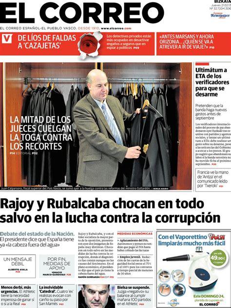 Periodico El Correo   21/2/2013