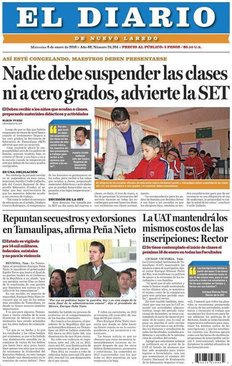 Periódico El Diario de Nuevo Laredo  México . Periódicos ...