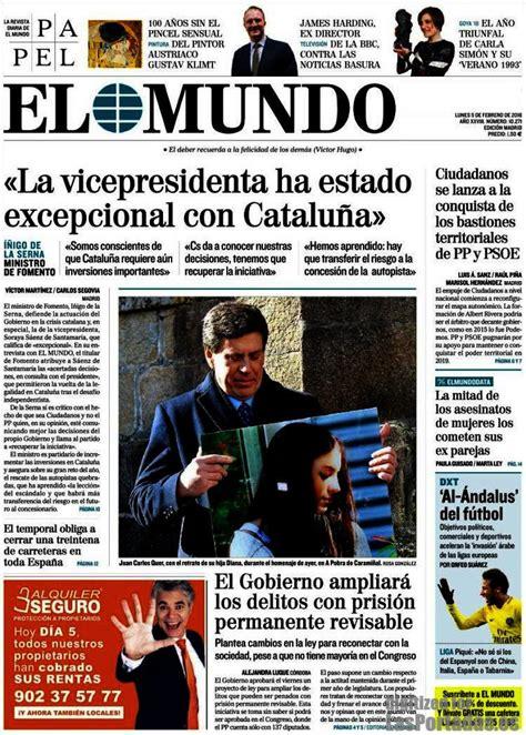 Periodico El Mundo - 5/2/2018