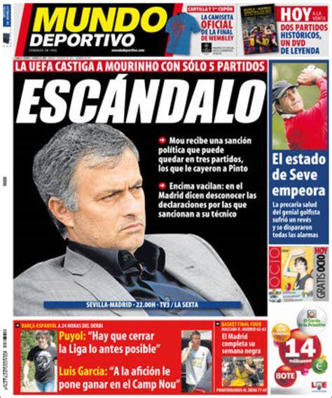 Periódico El Mundo Deportivo  España . Periódicos de ...