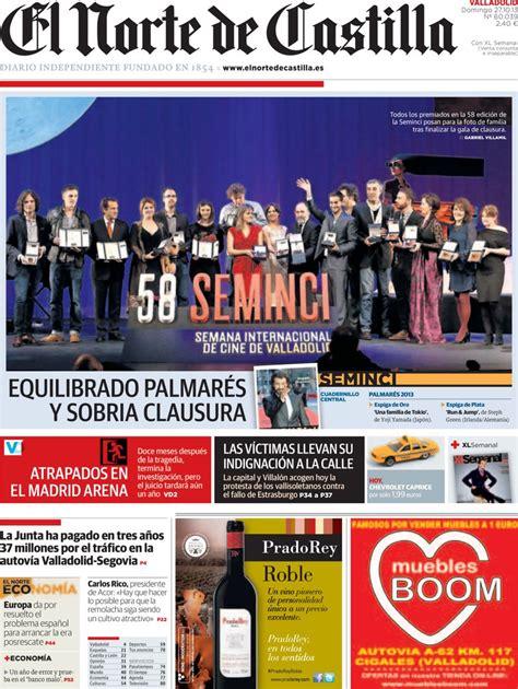 Periodico El Norte de Castilla - 27/10/2013