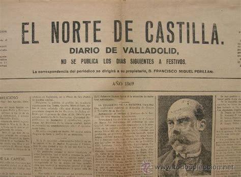 periódico el norte de castilla,1869,valladolid, - Comprar ...