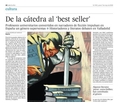 Periódico EL PAÍS – Cultura, jueves 7 de mayo de 2009 ...