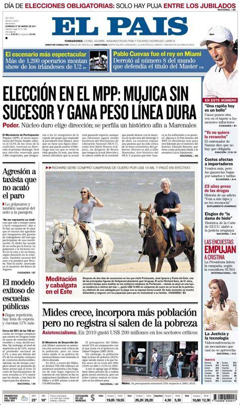 Periódico El País  Uruguay . Periódicos de Uruguay ...