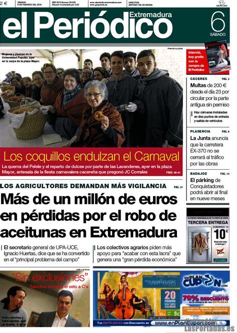 Periodico El Periódico de Extremadura - 6/2/2016