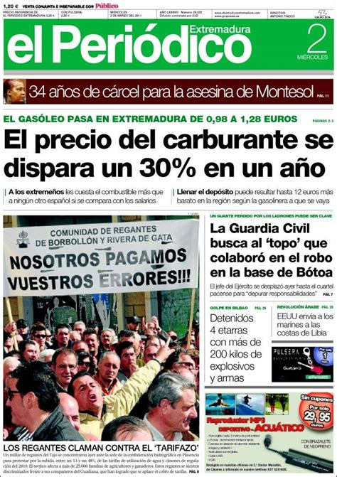 Periódico El Periódico de Extremadura (España). Periódicos ...