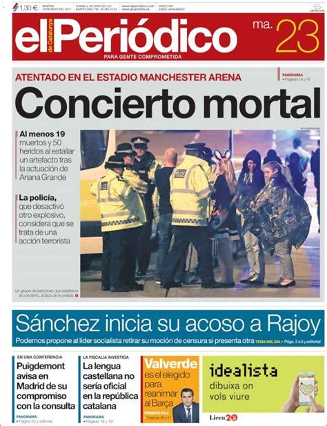Periódico El Periódico (España). Periódicos de España ...