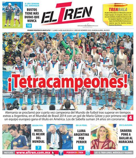 Periódico El Tren  México . Periódicos de México. Toda la ...