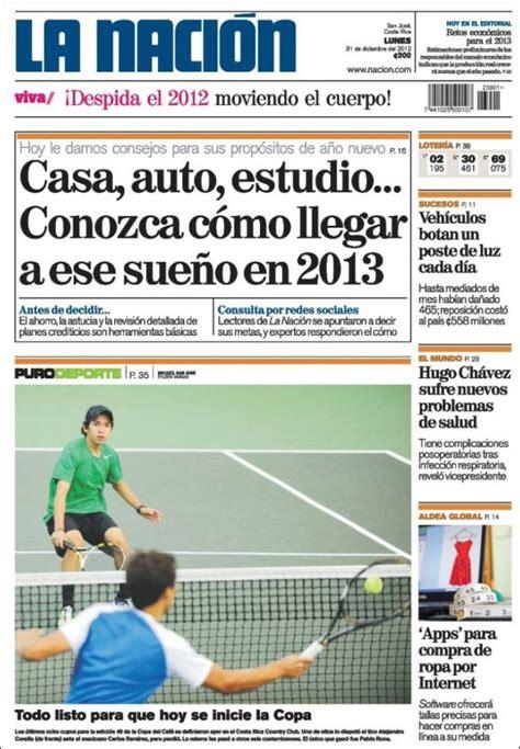 Periódico La Nación   Costa Rica  Costa Rica . Periódicos ...
