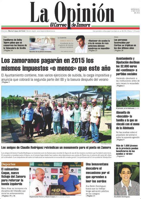 Periódico La Opinión   El Correo de Zamora  España ...